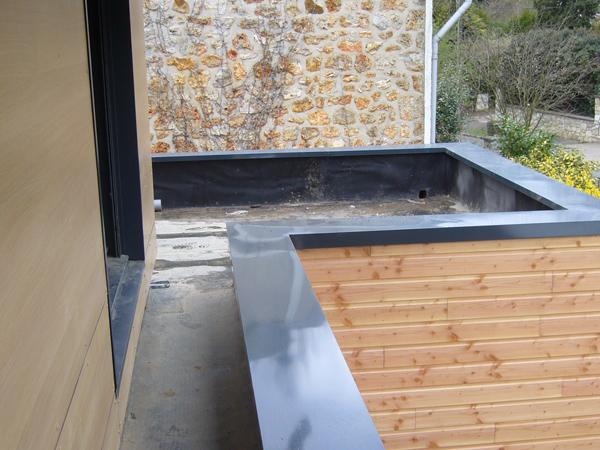 Couvertine m tallique rev tements modernes du toit for Etancheifier une terrasse